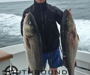 Striped Bass fishing aboard Southbound Charters