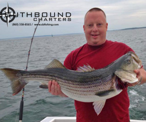 Striped Bass fishing with Southbound Charters